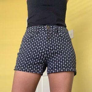 BOGO FREE: Patterned high waisted short shorts